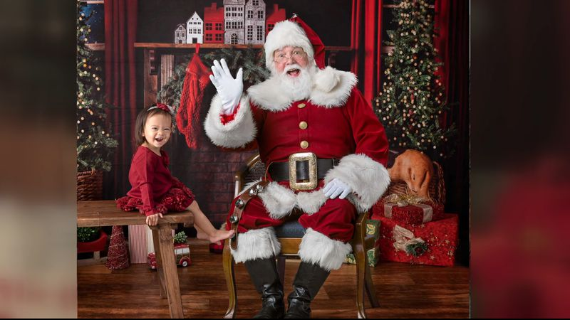 Christine Matrangos usually offers pictures with Santa in her studio -- but this year she's...