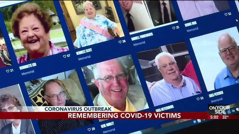 The state is commemorating victims of the pandemic with a virtual memorial. But now we want to...
