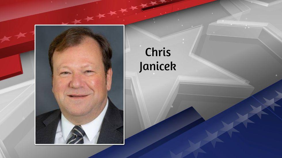 Chris Janicek was nominated to run against Republican Senator Ben Sasse of Nebraska in November.