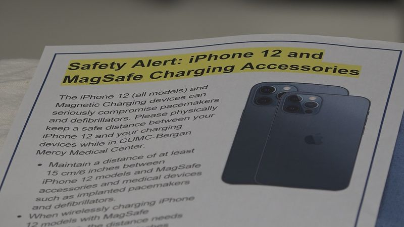 The iPhone 12 comes with a new warning.