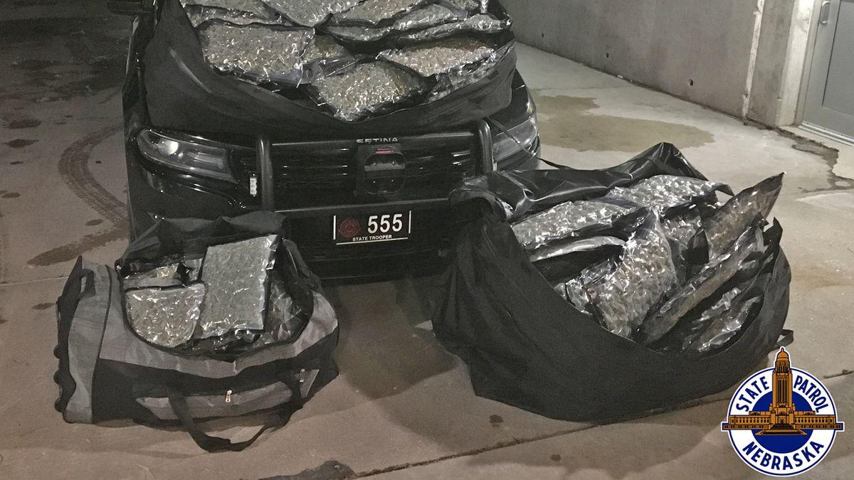 Drugs seized in Nebraska State Patrol traffic stop