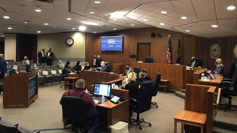 Omaha City Council meets Tuesday, May 18, 2021.