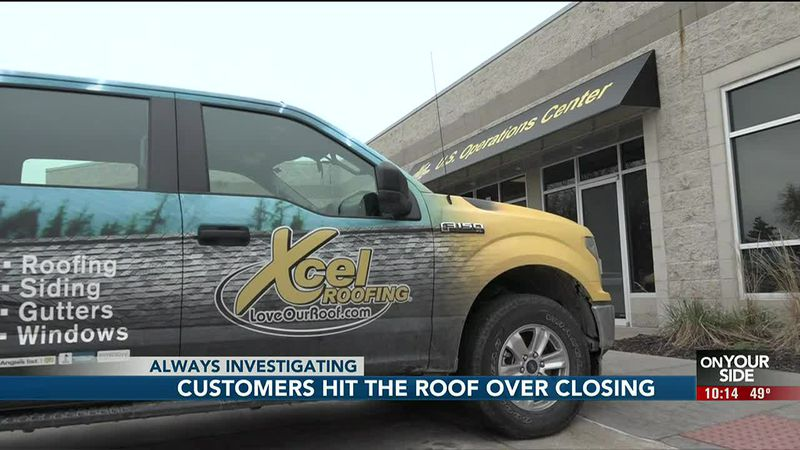 Xcel Roofing closed suddenly, leaving some customers out thousands of dollars.