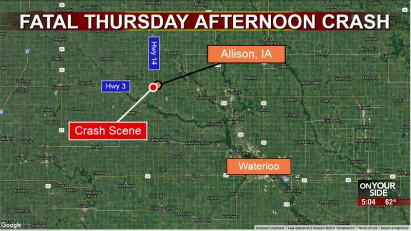 Fatal Thursday afternoon crash
