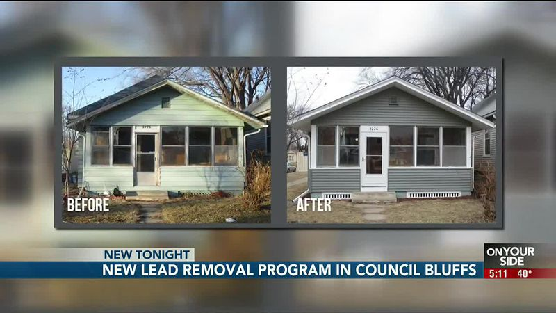 A Council Bluffs boy is doing fine after a Council Bluffs Lead Reduction Program took the lead...