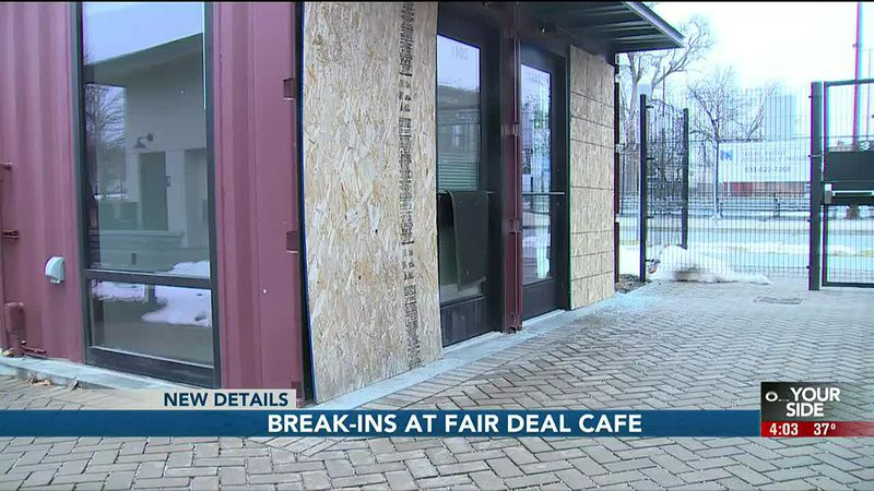 Break-ins at Fair Deal Cafe