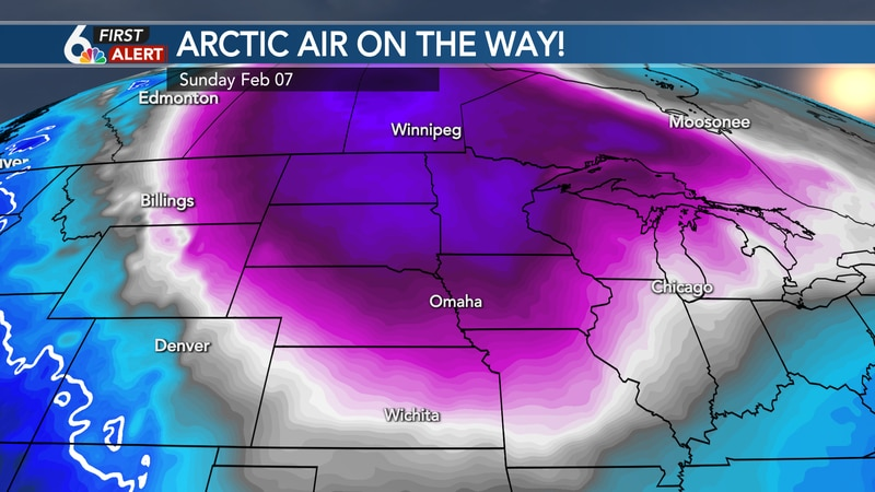Very cold temperatures moving in for the weekend