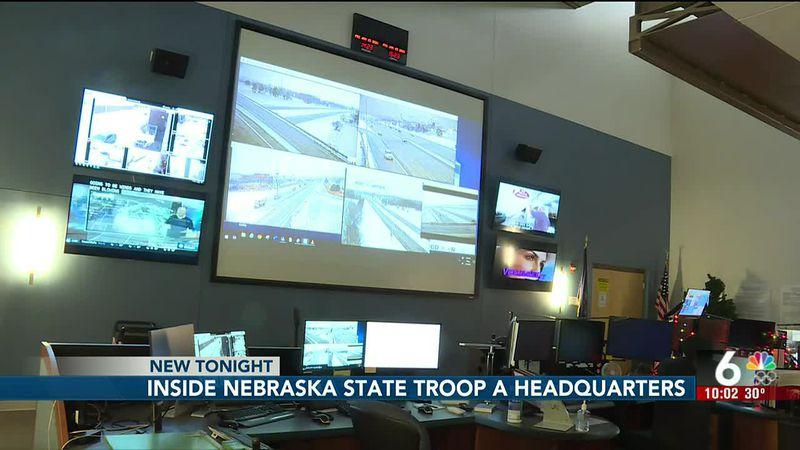 Inside Nebraska State Troop A Headquarters