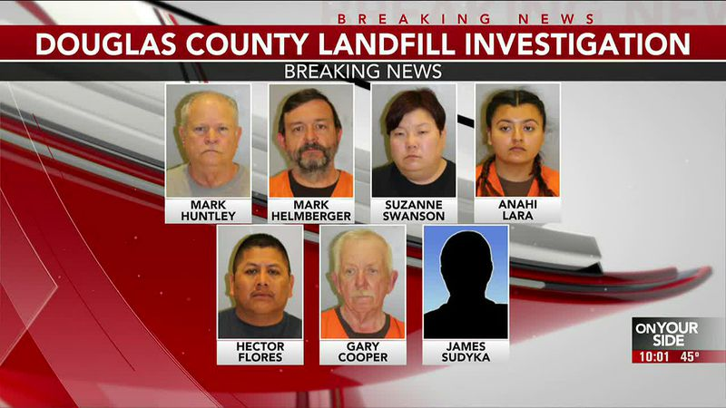 Douglas County landfill supervisor, employees jailed