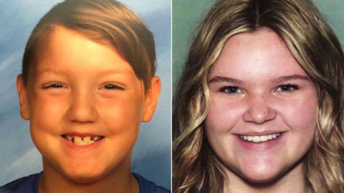 Authorities are trying to locate Joshua Vallow, 7, and Tylee Ryan, 17. (Source: Rexburg Police Department/CNN)