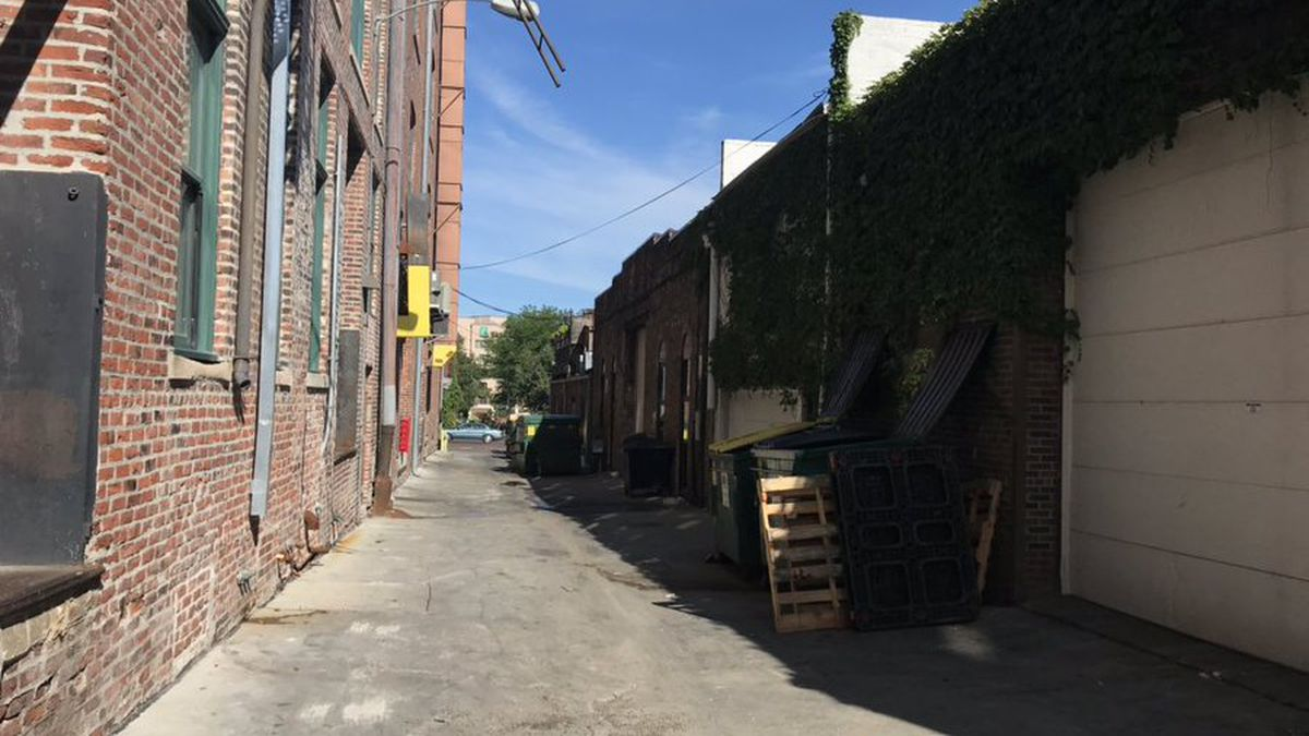 More than $12 million has been awarded by the Omaha Downtown Improvement District Foundation to make alleys safer in the Old Market. (Lileana Pearson / WOWT)