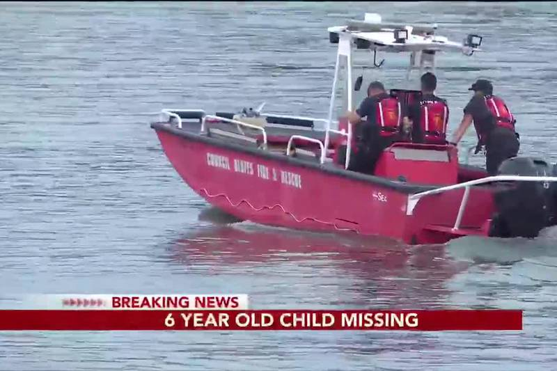 BREAKING: 6-year-old child missing - 10:30 pm