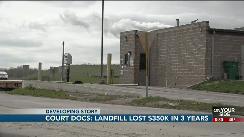 Court docs: landfill lost $350K in 3 years - 6:30 pm