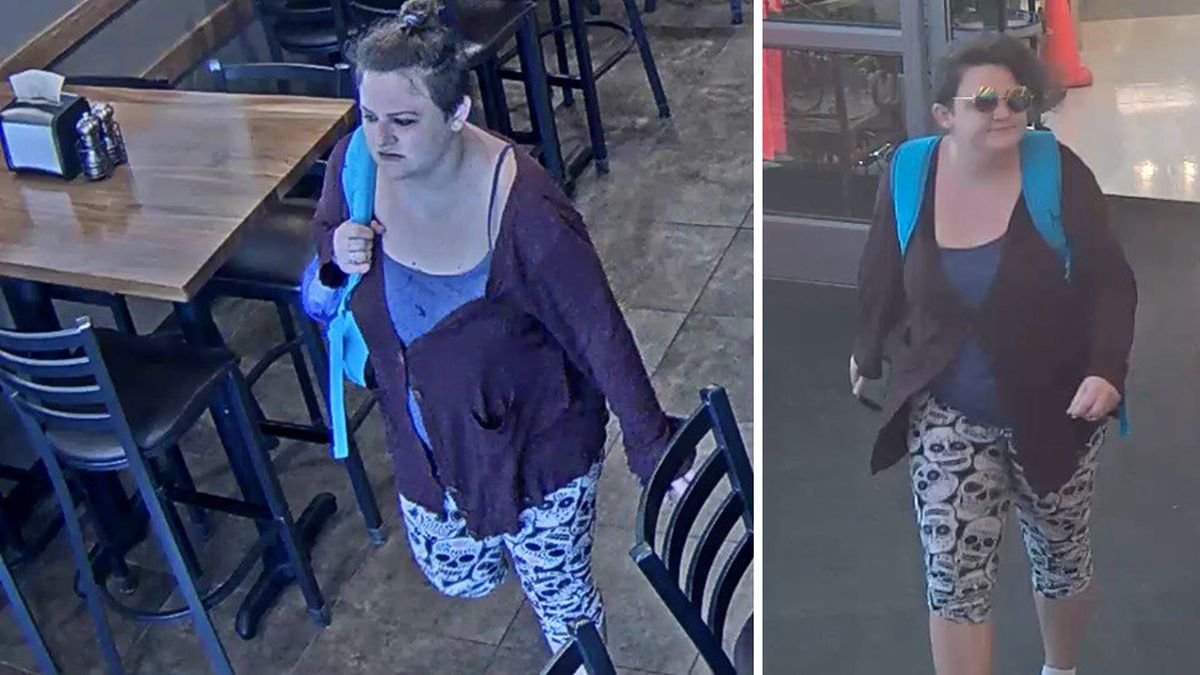 Omaha Police are looking for this woman who stole a car from the area of 108th and Fort streets. (Courtesy of Omaha Police Department)