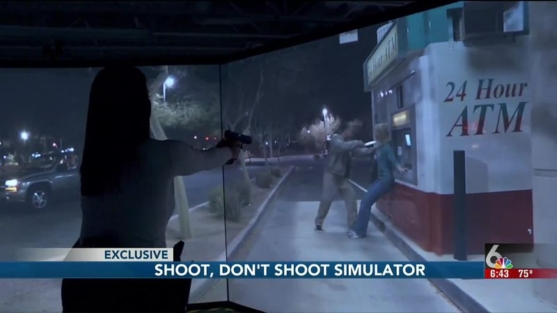 Bellevue PD are using new simulations to teach their officers about use of force and...