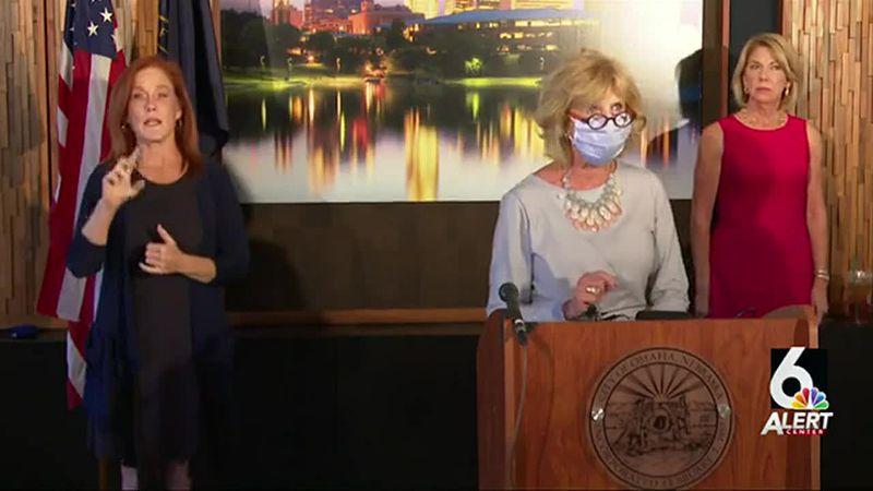 Dr. Adi Pour and Omaha Mayor Jean Stothert