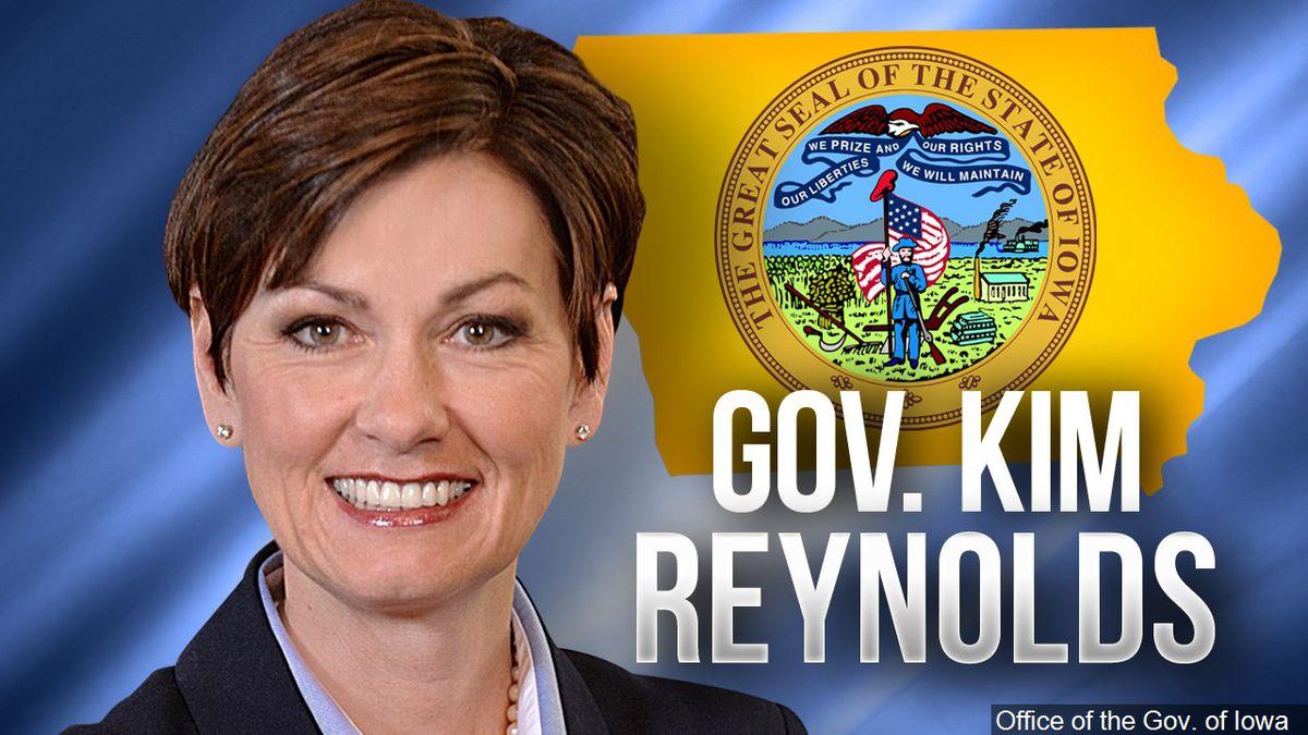 Iowa Gov. Kim Reynolds (Courtesy of the Office of the Governor of Iowa)