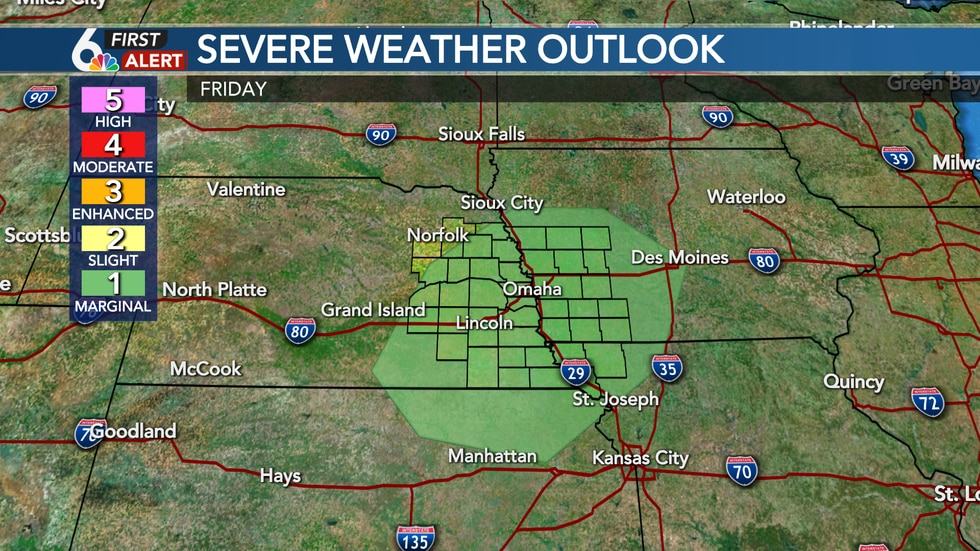 Friday Severe Outlook