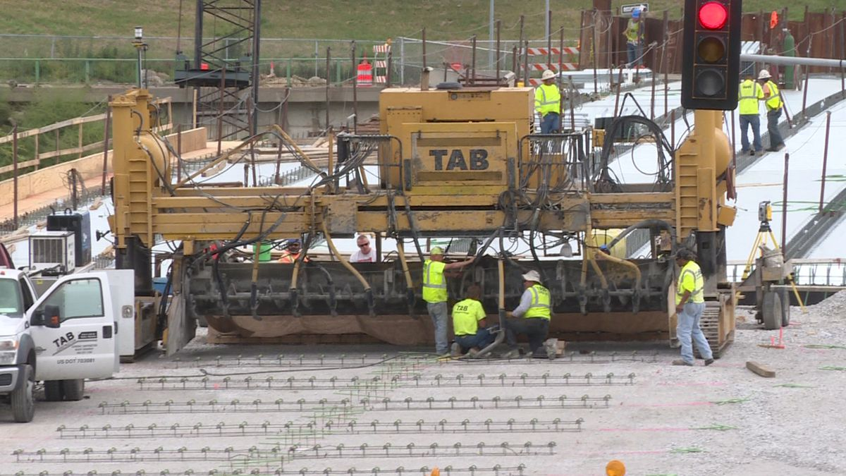 Q Street Bridge construction nears completion
