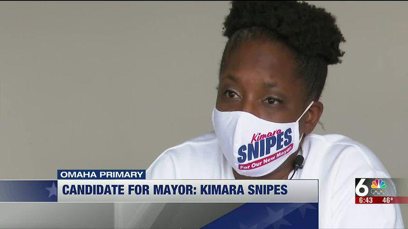 Omaha mayoral candidate Kimara Snipes