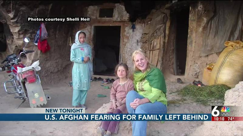 An Afghan in Omaha tells 6 News he's afraid for the family left behind in Afghanistan.