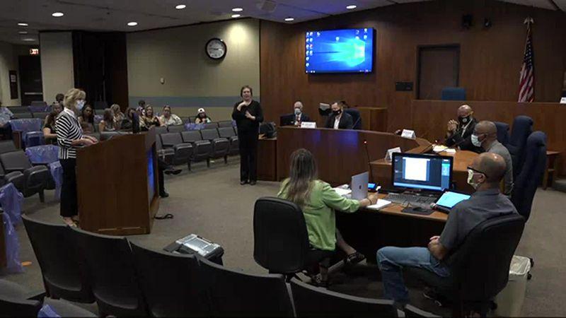Douglas County health board meeting: Councilman Gray makes remarks