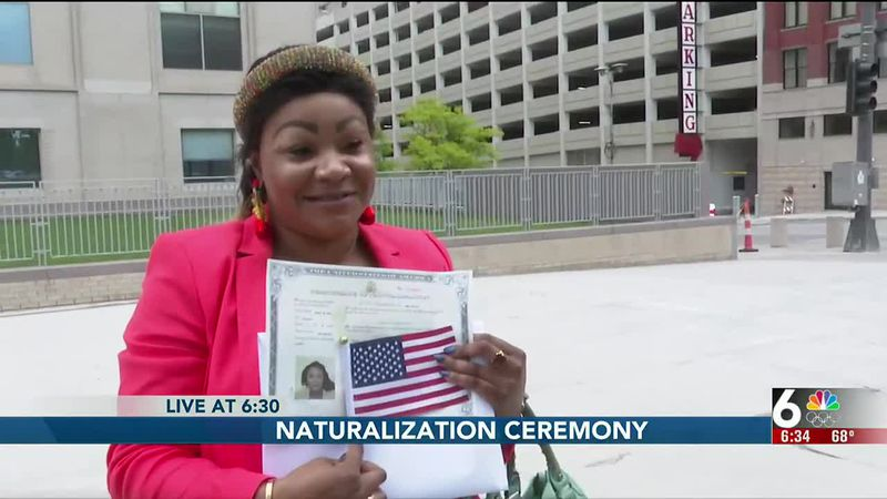 Naturalization ceremony - 6:30 pm