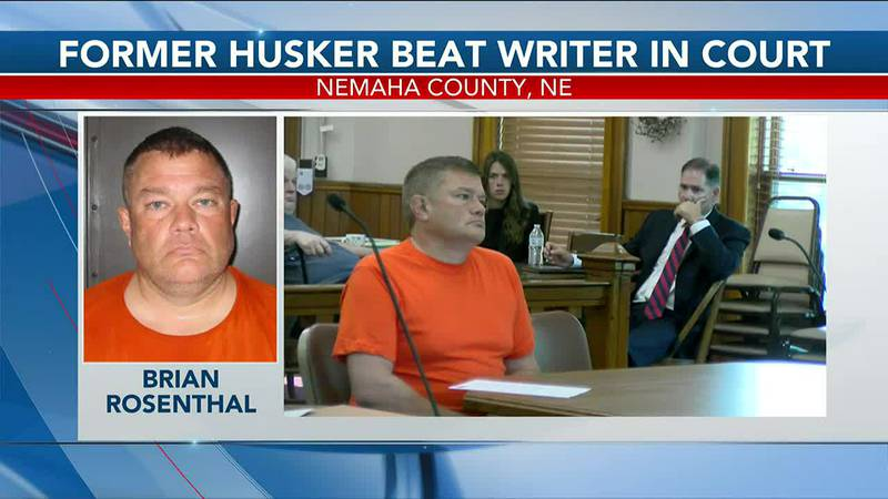 Former Husker Beat writer in court - 5 pm