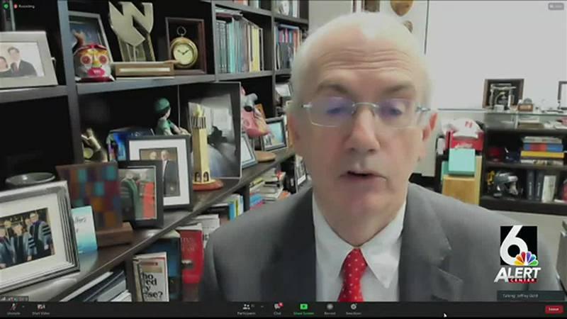 Dr. Jeffrey Gold, UNO chancellor