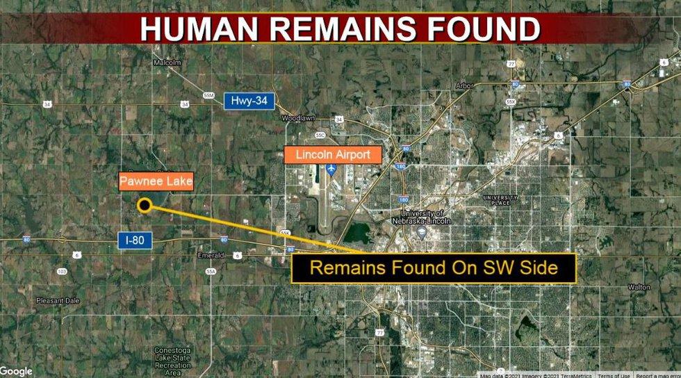 Remains Found near Pawnee Lake