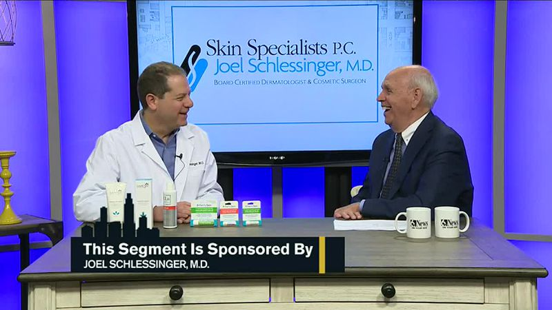 Dave Webber talks with board-certified dermatologist, Dr. Joel Schlessinger from Lovely Skin...