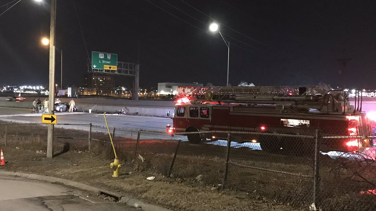 A wrong-way crash on JFK shuts down the highway for several hours.
