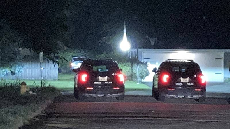 One man is in the hospital after a shooting near 110th & Shirley.
