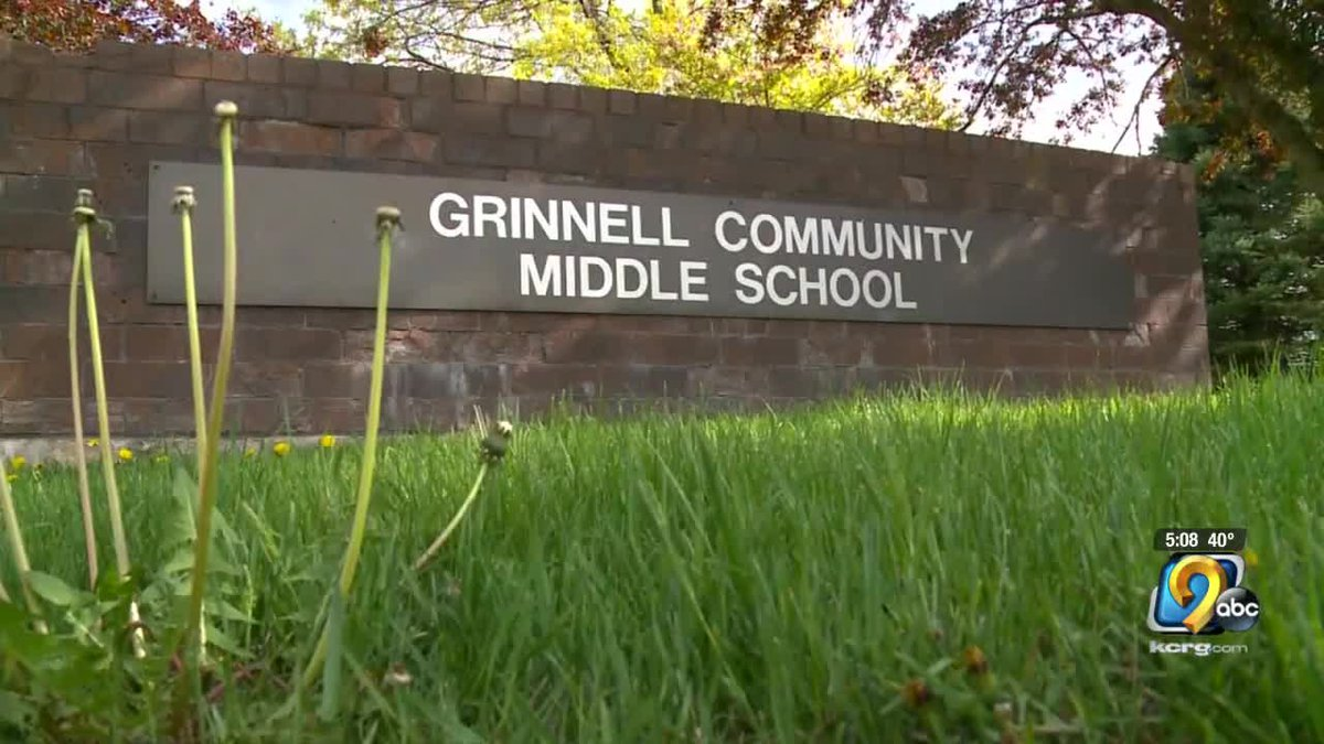 Grinnell Police and the Grinnell-Newberg Community School District say they are addressing...