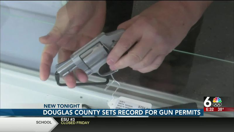 Douglas County sets records for gun permits