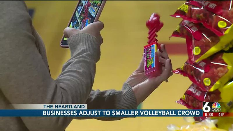 Businesses adjust to smaller volleyball crowd - 6:30 pm