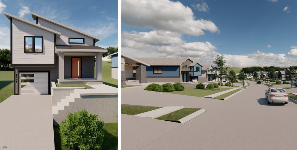 Habitat for Humanity is working with the city of Omaha to build new affordable housing on an...