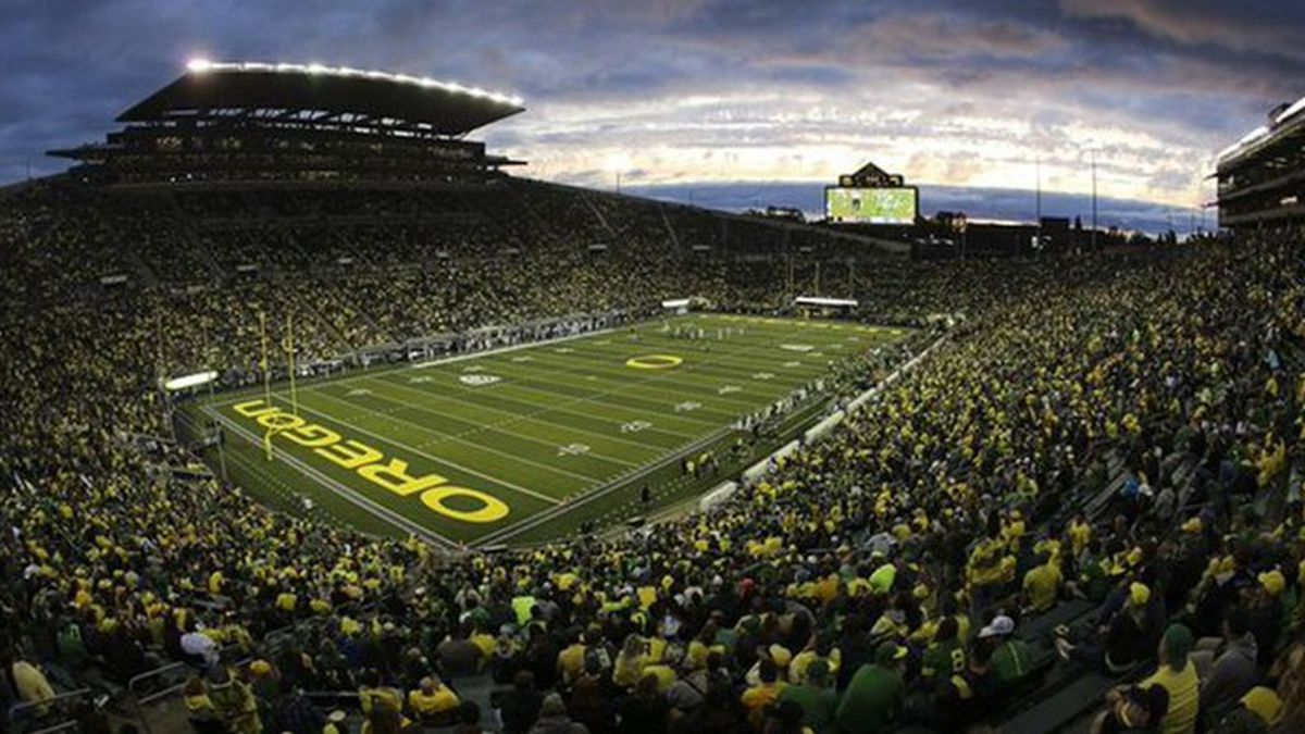 The move to drop the 'Civil War' name for rivalry was made after discussions between officials at both schools and current and former student-athletes. (Source: University of Oregon)