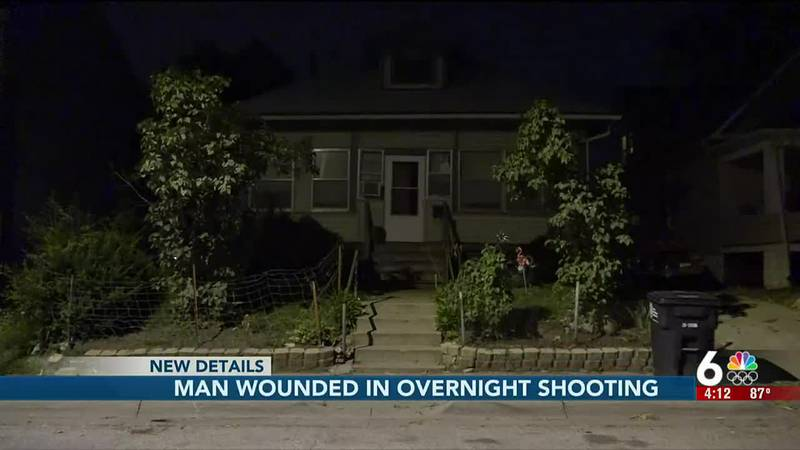 Man wounded in overnight shooting - 4 pm