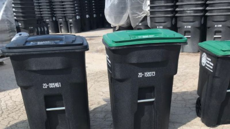 New trash carts to be distributed before FCC begins waste management in Omaha on November 30th.