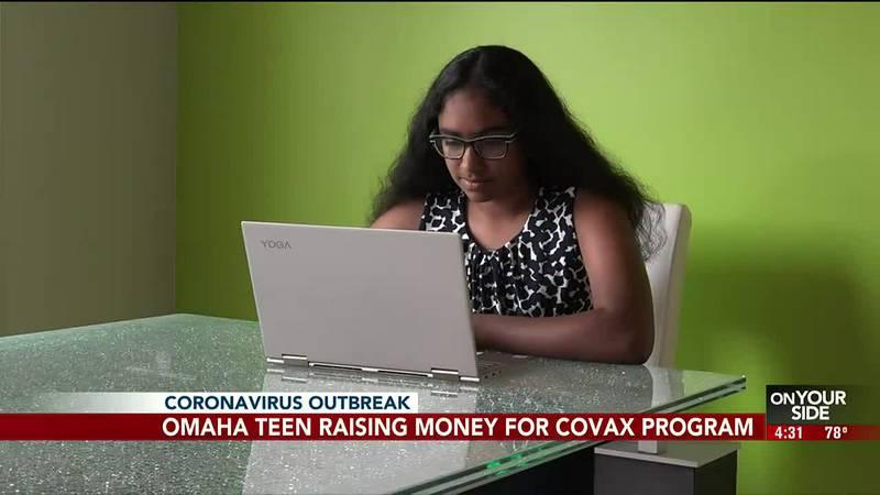 Omaha teen raising money for international vaccine program