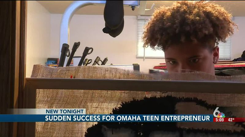 Christmas shoppers are turning to a young Omaha entrepreneur who's shipping orders across the...