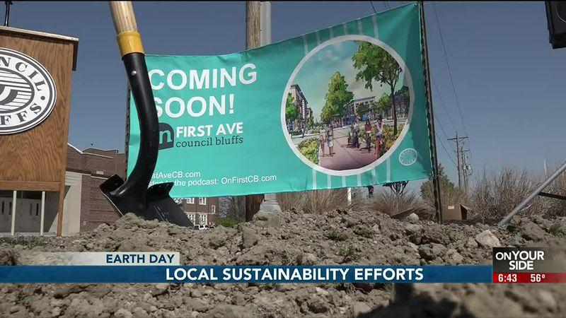 Sustainability projects in Nebraska and Iowa
