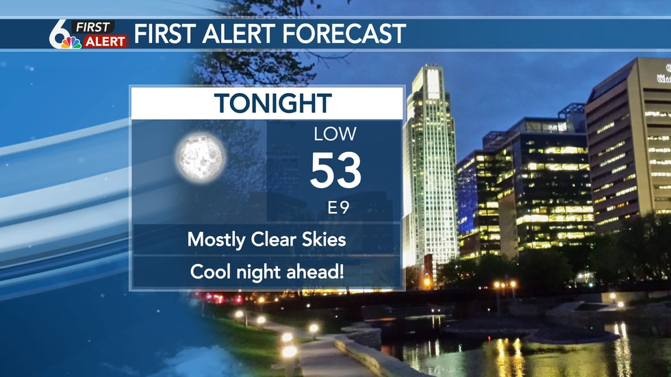 A little chilly tonight