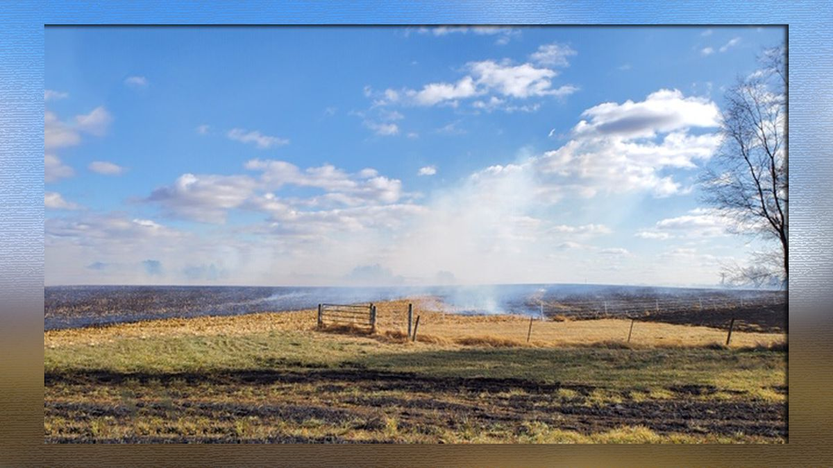 Dry conditions contribute to grass fire threat