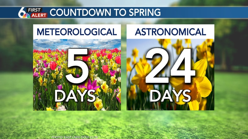 Meteorological Spring begins March 1st!