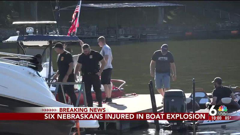 BREAKING: Six Nebraskans injured in boat explosion - 10 pm