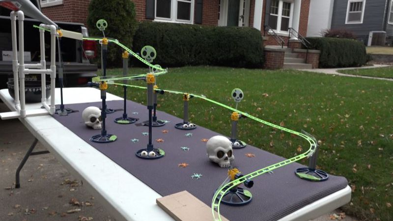 With the spooky season in full swing, people across the metro are getting creative when it...