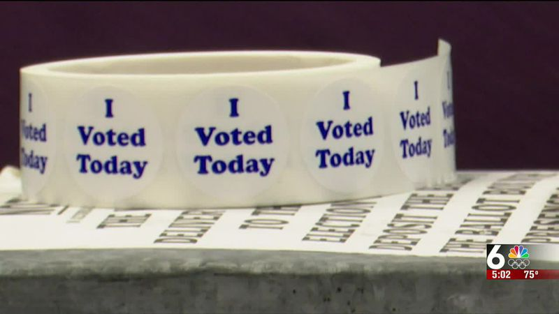 Omaha Election Day turnout at the poles - 5 pm