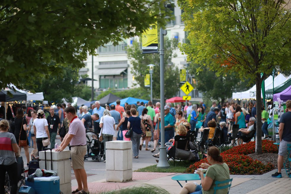 After a year's absence due to the pandemic, the Night Market in Omaha kicks off its 2021 series...